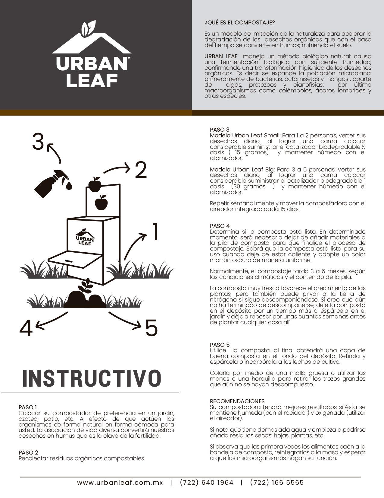 Instructivo instalación urban leaf