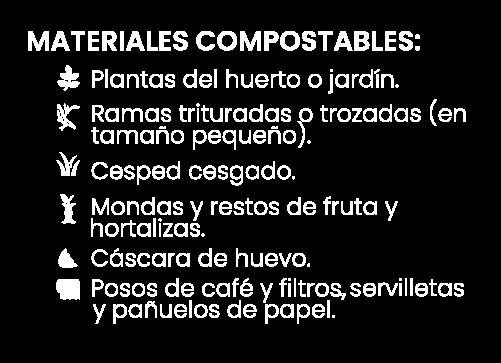 Si-compostable blanco